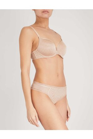 Chantelle Courcelles stretch-jersey spacer bra