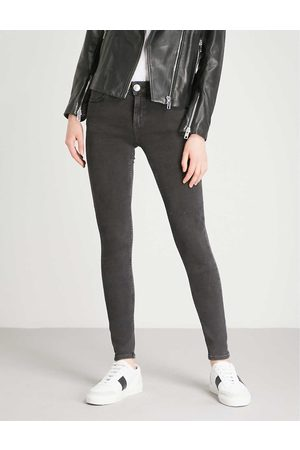 Sandro Womens Skinny Mid-rise Jeans 34