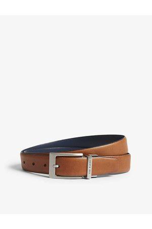 Ted Baker Mens TAN Karmer Reversible Leather Belt 28