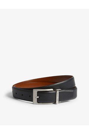 Ted Baker Mens Karmer Reversible Leather Belt 30