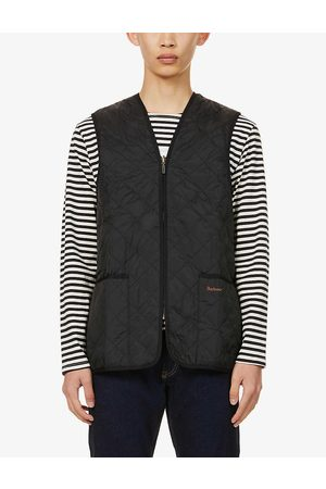 Barbour Mens Funnel-neck Quilted Shell Gilet 40