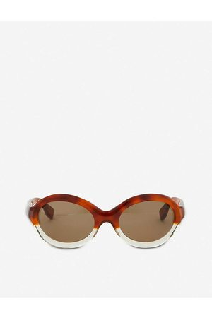 Marni Womens Me629s Oval Sunglasses