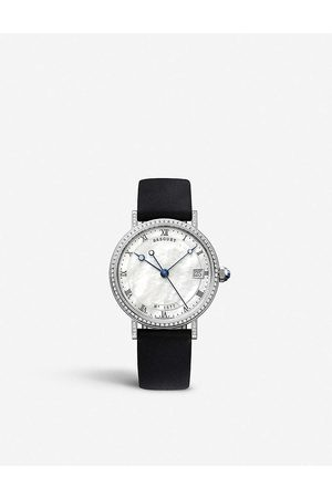 Breguet Mens Mother OF Pearl G9068BB52976DD00 Classique 9068 18ct White-gold