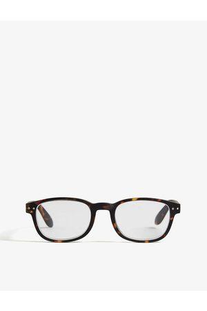 Izipizi Mens #B Reading Rectangle-frame Glasses +2.5