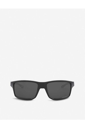 Oakley Mens OO9449-60 Gibston Acetate Rectangle-frame Sunglasses