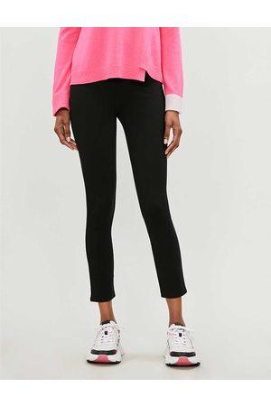 Spanx Womens Very 4-Pocket High-rise Skinny Stretch-ponté Trousers XS
