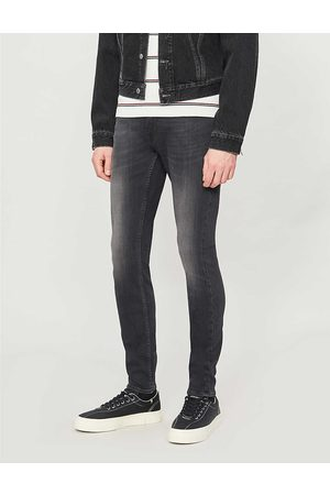 7 for all Mankind Mens Cotton Ronnie Tapered Luxe Performance Plus Skinny Jeans