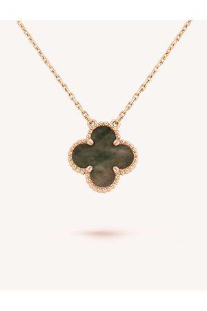 Van cleef Womens Rose Alhambra Rose- Mother-of-pearl Pendant