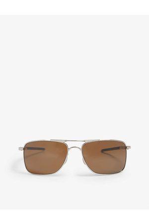 Oakley Mens Practical Gauge 8 Rectangle-Frame Sunglasses