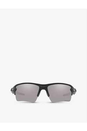 Oakley Mens OO9188-59 Flak 2.0 XL Acetate and Prizm™ Rectangle-frame Sunglasses