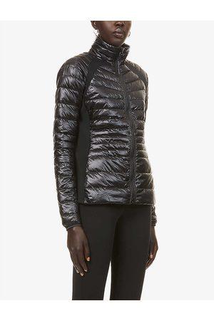 Canada Goose Womens - Noir Hybridge Lite Padded Shell-down Jacket XS