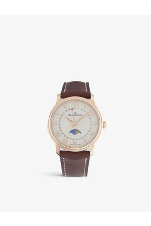 Blancpain Womens Opalin Dial 6106364255A Rose-gold and Satin Watch