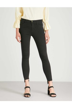 Frame Ladies Cotton Le Skinny Mid-Rise Jeans