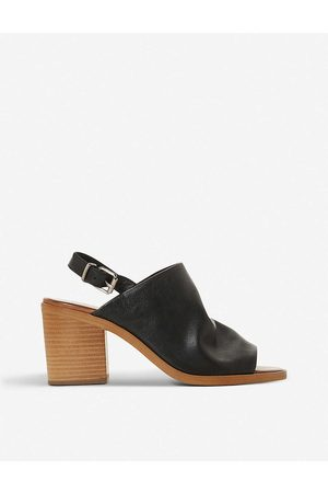 Bertie Womens -leather Issi Slingback Leather Sandals EUR 36 / 3 UK Women