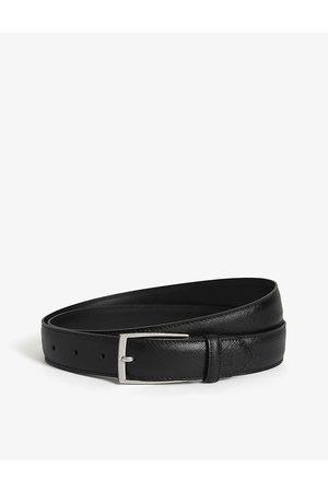 Sandro Mens Saffiano Leather Belt 32