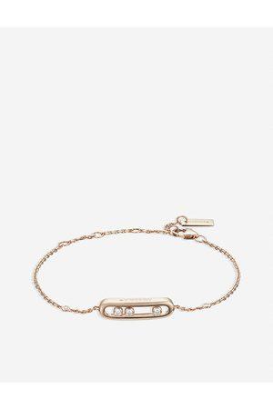 MESSIKA Women Bracelets - Womens Baby Move 18ct Rose-gold and Diamond Bracelet