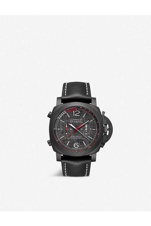 PANERAI Men Watches - Mens PAM01038 Luminor Luna Rossa Regatta CARBOTECH™ and Leather Watch 1 Size