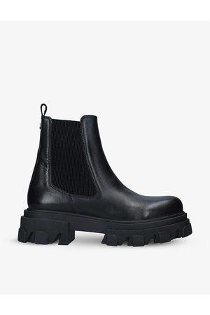 Carvela Womens Shy Leather Heeled Ankle Boots EUR 36 / 3 UK Women