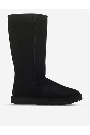 UGG Women's Classic Ll Tall Sheepskin And Suede Boots