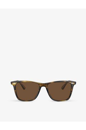 Oliver Peoples Mens OV5419SU Lachman Sun Acetate Glass Square-frame Sunglasses