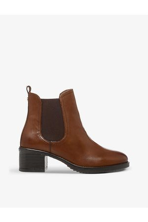Dune Womens Tan-leather Parker Leather Chelsea Boots EUR 37 / 4 UK Women