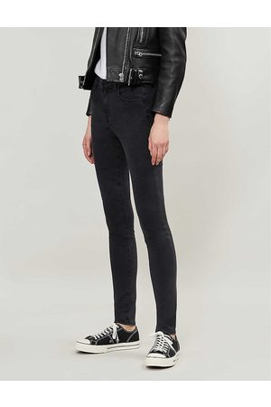J Brand Ladies Leather Maria Skinny High-Rise Jeans