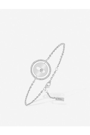 MESSIKA Womens Lucky Move 18ct - and Diamond Bracelet