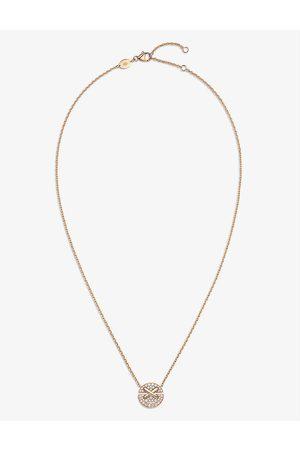 CHAUMET Womens Jeux de Liens Harmony Small 18ct Rose- and 0.32ct Brilliant-cut Diamond Pendant Necklace 1SIZE