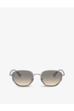 Persol Mens PO2471S Acetate and Crystal Sunglasses