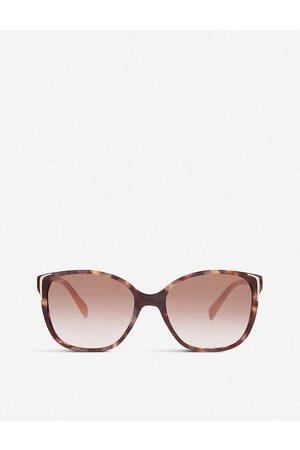 Prada Spr010 Square-Frame Sunglasses