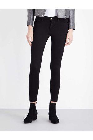 Frame Le Skinny de Jeanne skinny mid-rise jeans