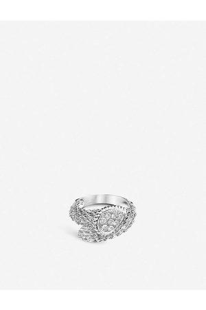 Boucheron Serpent Bohème 18ct -gold and diamond ring