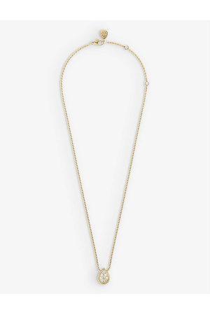 Boucheron Women's Serpent Bohème 18ct -Gold And Diamond Pendant Necklace