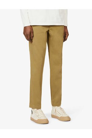 7 for all Mankind Mens Forest Mid-rise Cotton-blend Jogging Bottoms XS