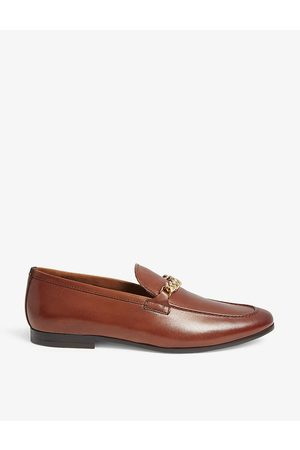 Aldo Mens Cognac Royton Leather Loafers EUR 42 / 8 UK MEN
