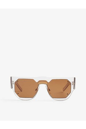 Marni Womens Me622s Rectangle-frame Sunglasses