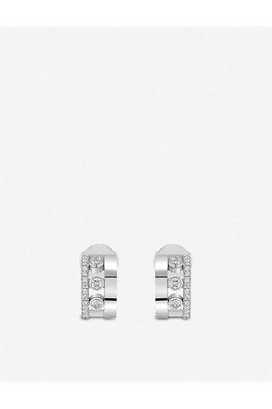MESSIKA Womens Romane 18ct - and Diamond Mini Earrings