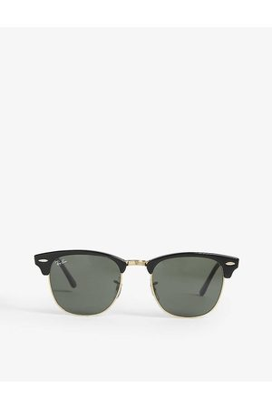 Ray-Ban Mens Clubmaster Rb3016 Sunglasses