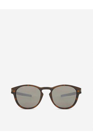 Oakley Women's Matte Latch Prizm Oo9265 Round-Frame Sunglasses