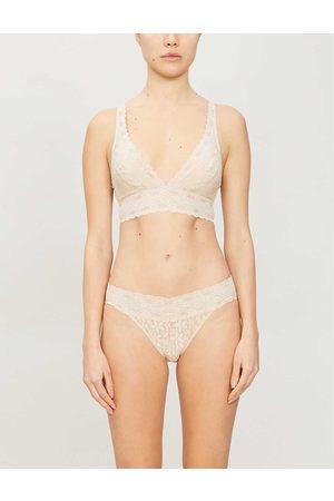 Wacoal Womens Nude (Nude) Halo Triangle-cupped Stretch-lace bra 30