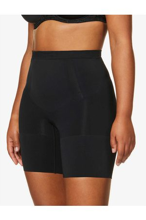 Spanx Womens Very OnCore Mid-thigh Stretch-jersey Shorts XS