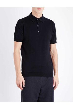 JOHN SMEDLEY Men's Sea Island Cotton Polo Shirt