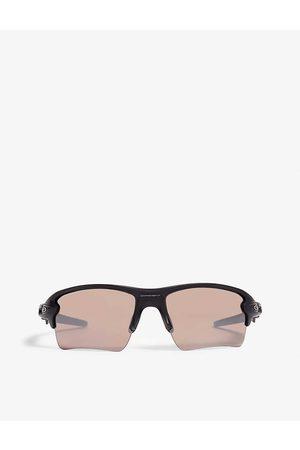 Oakley Mens Wrap-around Sunglasses