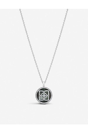 De Beers Womens Enchanted Lotus 18ct White-gold