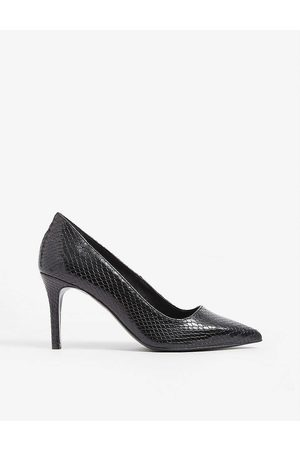 Claudie Pierlot Womens Python-embossed Leather Courts EUR 36 / 3 UK Women