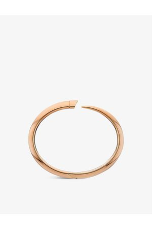 SHAUN LEANE Womens Rose Vermeil Tusk Rose -vermeil Bangle L