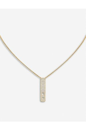 MESSIKA Womens My First Diamond 18ct - and Diamond Necklace
