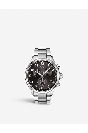 Tissot Mens T1166171105701 Chrono XL Classic Stainless Steel Watch