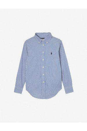 Ralph Lauren Boys and Custom Fit Long-Sleeve Shirt