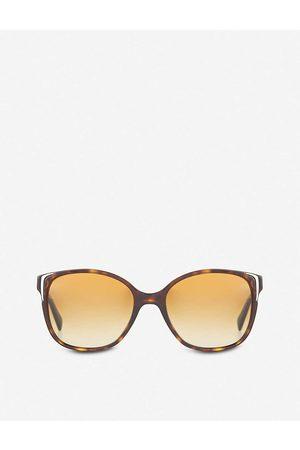 Prada Havana Pr01Os Square Sunglasses